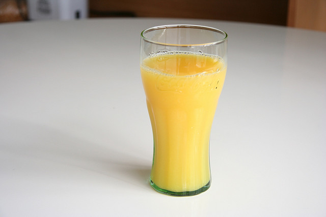 Take DE with orange juice for easy consumption
